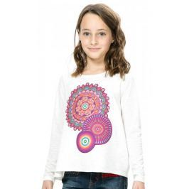 Desigual dívčí tričko 104 smetanová