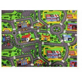 Dětský koberec City life 200x200 cm