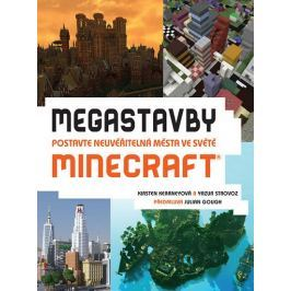 Kearneyová Kirsten, Strovoz Yazur: Megastavby - Postavte neuvěřitelná města ve světě Minecraft