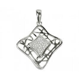 Silver Cat Stříbrný přívěsek s krystaly SC017 stříbro 925/1000