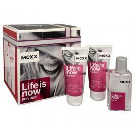 Mexx Life Is Now For Her - EDT 30 ml + tělové mléko 2 x 50 ml