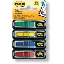 Záložky samolepicí Post-it šipky 11,9 x 43,2 mm/ 4 x 24 ks