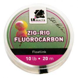 Lk Baits ZIG-RIG Fluorocarbon 20 m 10 lb