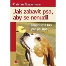 Sondermannová Christina: Jak zabavit psa, aby se nenudil - Jednoduché hry pro psí nos