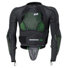 Held oblek s chrániči KENDO vel.XL černá/zelená