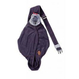 Lodger Nosítko Shelter Fleece Reluxury, Antracite