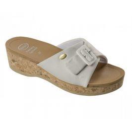 Scholl Zdravotní obuv WAPPY Lea - bílá (Velikost vel. 36)