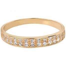 Brilio Prsten ze žlutého zlata s krystaly 229 001 00670 (Obvod 56 mm) zlato žluté 585/1000