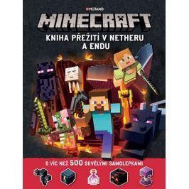 kolektiv autorů: Minecraft - Kniha přežití v Netheru a Endu