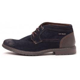 Tom Tailor pánská kotníčková obuv 44 tmavě modrá