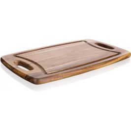 Banquet Prkénko dřevěné PREMIUM Dark Brown 42x25x1,8 cm