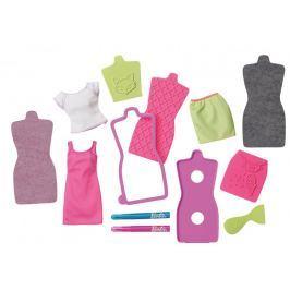 Mattel Barbie DIY Módní návrhářské studio růžovo-zelené