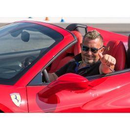 Poukaz Allegria - jízda ve Ferrari na plný pecky polygon Příbram