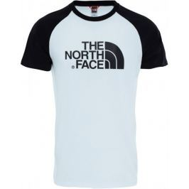 The North Face M Ss Raglan Easy Tee Tnf Wh/Tnf Bl L