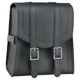 Held taška na opěrku motocyklu:  CRUISER SISSY-BAR (3L) kůže, černá