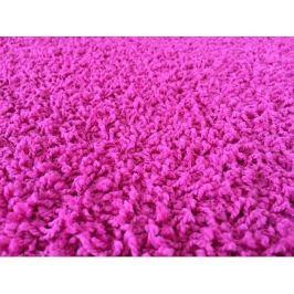 Kusový koberec Color Shaggy růžový, průměr 120 cm
