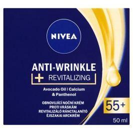 Nivea Obnovující noční krém proti vráskám 55+ (Anti-Wrinkle + Revitalizing) 50 ml