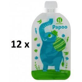 Petite&Mars Kapsička na jídlo Papoo Slon 12 ks