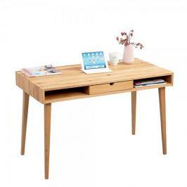 Artenat Psací stůl se zásuvkou Ida, 120 cm, divoký dub