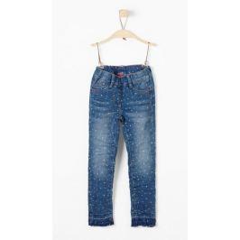 s.Oliver dívčí jeansy 98 modrá