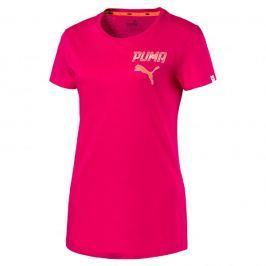 Puma ATHLETIC Tee W BRIGHT ROSE M