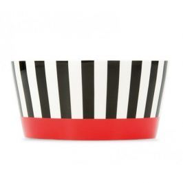 Müsli miska porcelánová Black Stripes, 0,45 l
