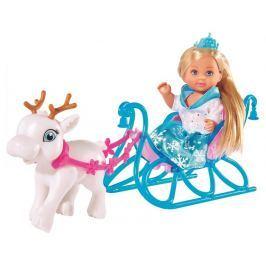 Simba Panenka Evička - Sněhová princezna s kočárem