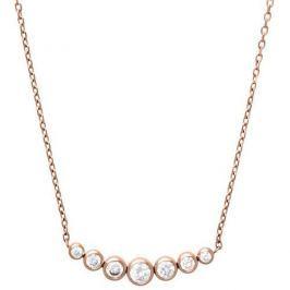 Michael Kors Jemný pozlacený náhrdelník z oceli s krystaly MKJ4954791