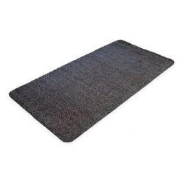 Černá bavlněná čistící vnitřní vstupní rohož - 150 x 75 x 0,4 cm