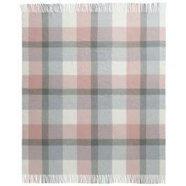 Biederlack Soft Impression 130x170 cm, růžová/šedá