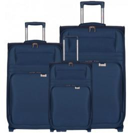 Aerolite T-9515/3 Sada cestovních kufrů, modrá