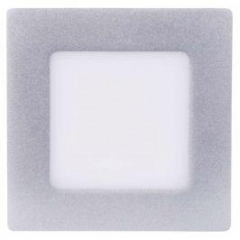 Emos LED přisazené svítidlo čtverec 6W neutrální bílá, stříbrná