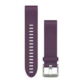 Garmin náhradní řemínek pro Fenix 5S QuickFit™ 20, fialový - rozbaleno