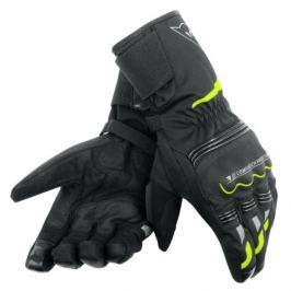 Dainese rukavice TEMPEST D-DRY vel.XS černá/fluo-žlutá, textilní