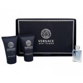 Versace Pour Homme - EDT 5 ml + sprchový gel 25 ml + balzám po holení 25 ml