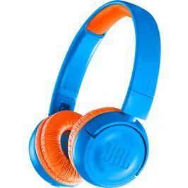 JBL JR300BT, modrá/oranžová