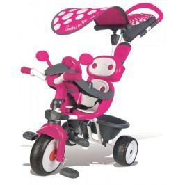 Smoby Tříkolka Baby Driver Confort, stříška růžová