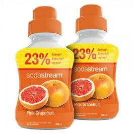 Sodastream Příchuť Pink Grapefruit 2x 750 ml