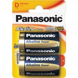 Panasonic Alkaline Power D LR20 2BP