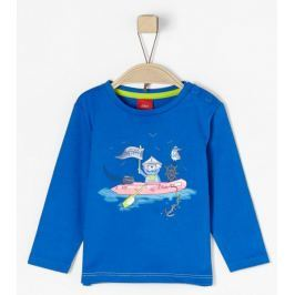 s.Oliver chlapecké tričko 68 modrá