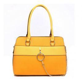 Bessie London žlutá kabelka
