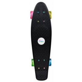 Authentic Skateboard se svítícími kolečky