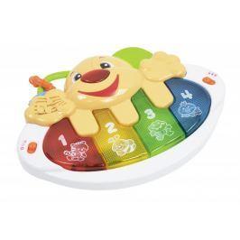 Let's play Dětské klávesy ve tvaru pejska se zvuky a světly