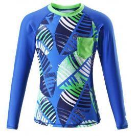 Reima Dětské triko s dlouhým rukávem Bay UV 50+ 104 modrá