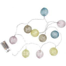 Toro Girlanda 10LED světel plastové kuličky