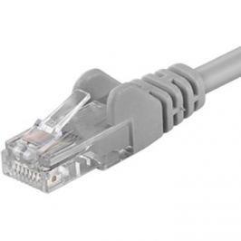PremiumCord Patch kabel UTP CAT6, 30 m, šedý