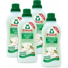 Frosch Eko Hypoalergenní aviváž Mandlové mléko 4x750 ml