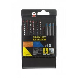 Stanley Pilové listy HCS/HSS do dřeva a kovu, uchycení T, sada 10 dílů Produkty
