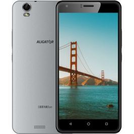 Aligator S5510, Dual SIM, šedý
