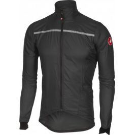 Castelli Superleggera Jacket Anthracite/Yellow Fluo L